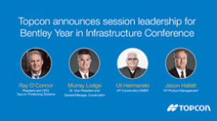 Blog: Topcon Experts Speak at Bentley's The Year In Infrastructure Conference