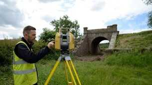 BLOG: Topcon and Precision Geomatics Ltd help get historic railway bridge back on track