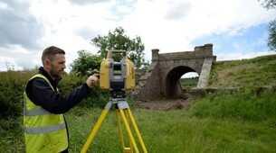 BLOG: Topcon and Precision Geomatics Ltd help get historic railway bridge back on track