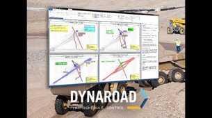 Topcon anuncia la actualización del software DynaRoad