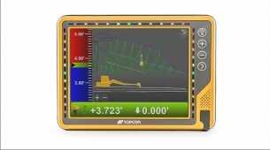 Topcon introduces new 10-inch touchscreen display for construction machine control
