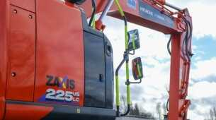 Topcon joins forces with Hitachi to provide innovative machine control