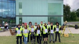 Topcon Supports COYO DEC Survey  School Launch at Cronton College