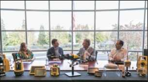 Congressman Swalwell visits Topcon, discusses job creation and infrastructure renewal