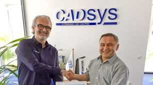 Handschlag! Neue Vertriebspartnerschaft mit CADsys