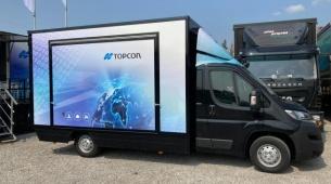 Topcon on Tour : Topcon Positioning Belgium innove suite à l'annonce de son absence des grandes bourses du secteur