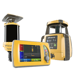 Millimeter GPS para motoniveladora