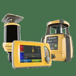 Millimeter GPS mit 3D für Grader