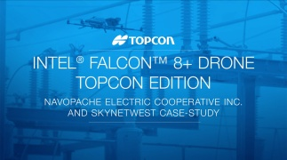 Intel® Falcon™ 8+ Drone – Topcon Edition   NEC and Skynetwest Case Study