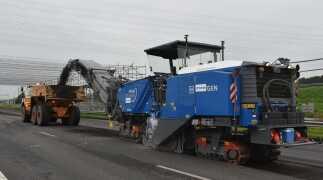 Innovatief asfaltfrezen bij Infra-Techniek