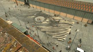 Mapeamento de uma verdadeira obra-prima: arte vista das alturas