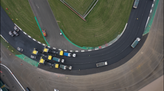 Weltklasse: Ein neuer Asphaltbelag für Silverstone