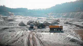 Slimme inspectie van de White Mountain Sand Mine