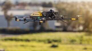 Falcon8+ darf Österreichs Städte befliegen
