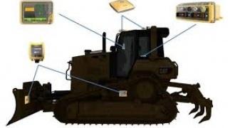 Volgende generatie machinebesturing Bulldozers, zonder masten!