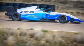 Topcon technology improving paving of roads, runways, and racetracks