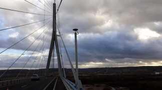 Topcon en James Fisher Testing Services slaan de handen in elkaar voor groot brugproject in Normandië.