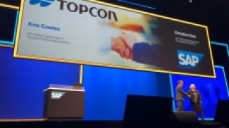 Topcon featured in keynote presentation at SAP conference