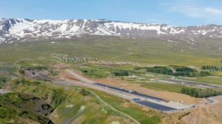Iceland drag race track gets the SmoothRide treatment