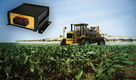 HIGH ACCURACY AUTO SECTION CONTROL SAVES INPUTS BY ELIMINATING DOUBLE COVERAGE