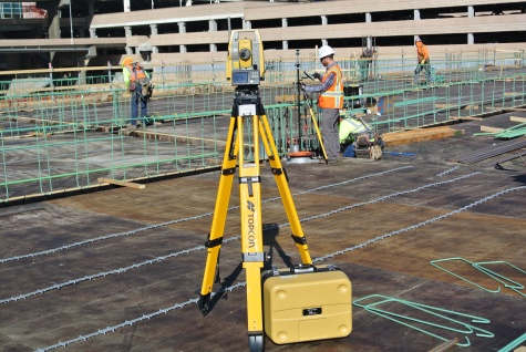 DS-200i Total Station now connected to Autodesk BIM 360 Layout IOS App