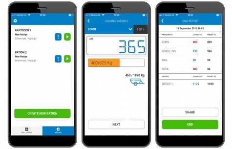 In-Cab FEED App