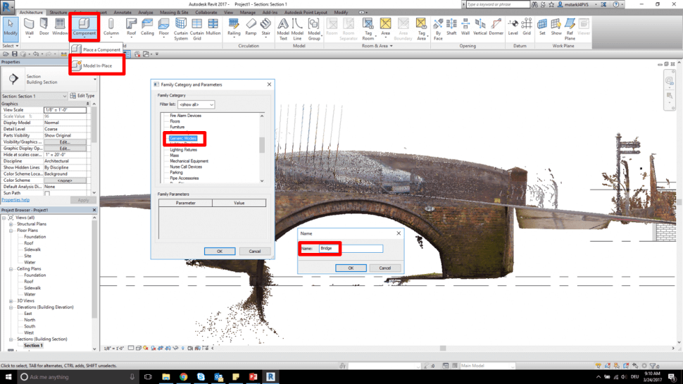 MAGNET Collage: Remodeling in Autodesk Revit using In-place