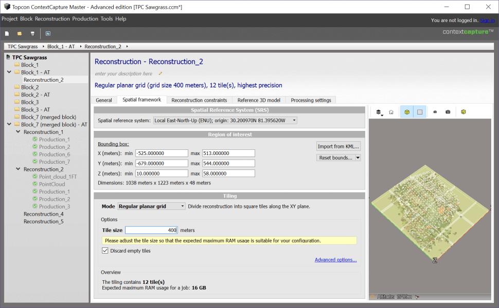 Topcon ContextCapture: 3D Mesh Reconstruction | Topcon