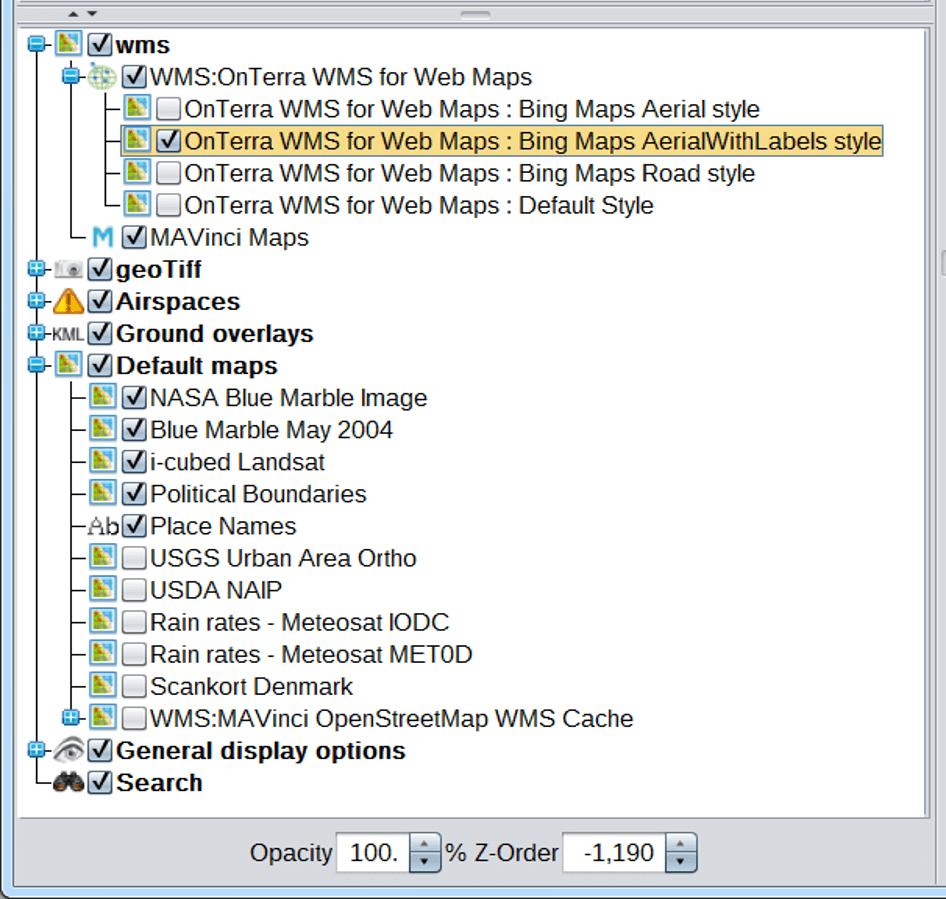 MAVinci Desktop: Importing a Web Map Server (WMS) | Topcon