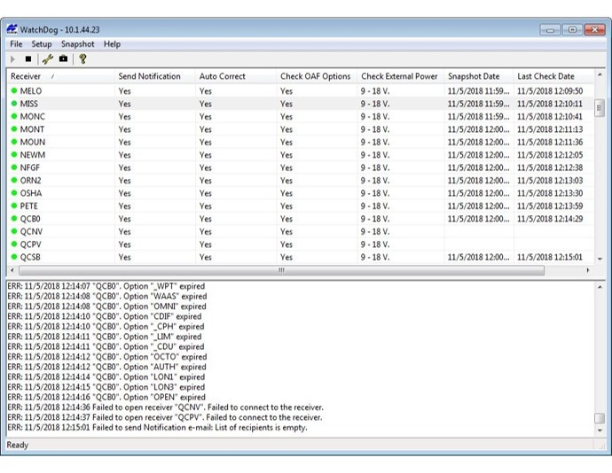 TopNET: WatchDog installation and configuration   Topcon Positioning